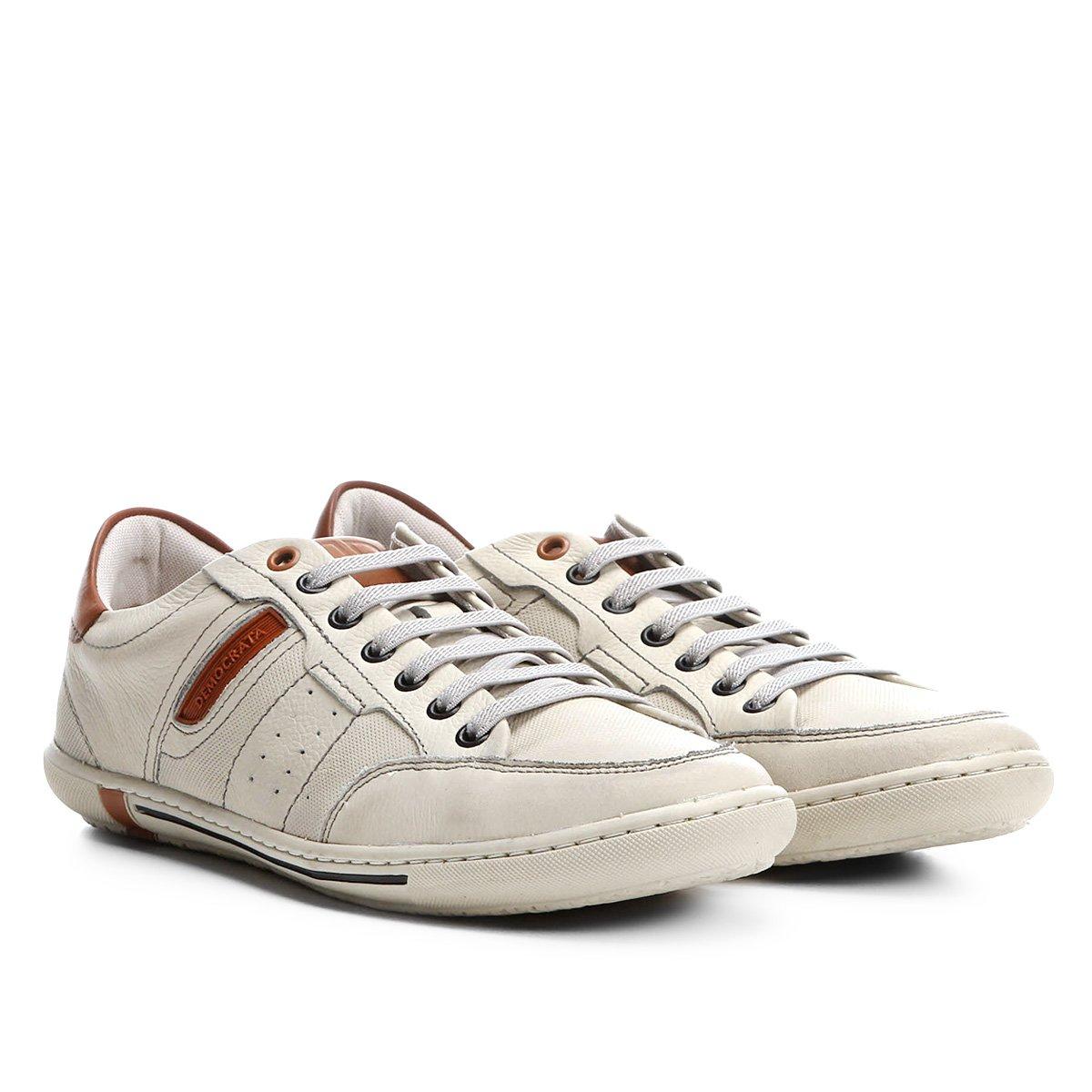 1811f84870 FornecedorNetshoes. Sapatênis Couro Democrata Lucky Masculino