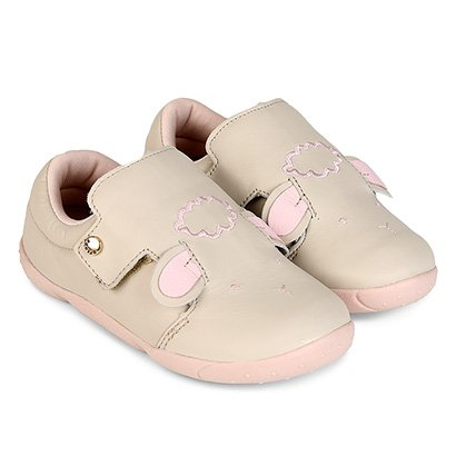 Sapato Infantil Couro Ortopé DNA New Ovelha Feminino