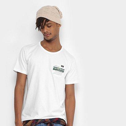 Camiseta Colcci Bolso Estampa Costas Masculina