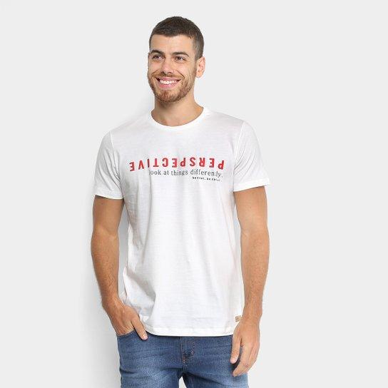 8b3e0892c Camiseta Colcci Perspective Masculina - Compre Agora