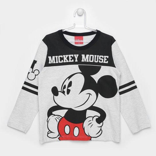 cee37ef88 Camiseta Infantil Kamylus Mickey Manga Longa Masculina - Compre ...