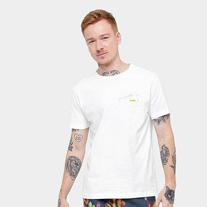 Camiseta Redley Coqueiro Costas