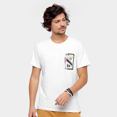 Camiseta Redley Mix Tape Masculina