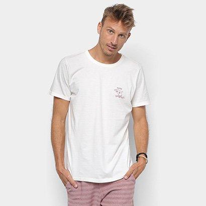 1191e55b98 Camiseta Redley Tinturada Silk Perigo Tubarão Masculina