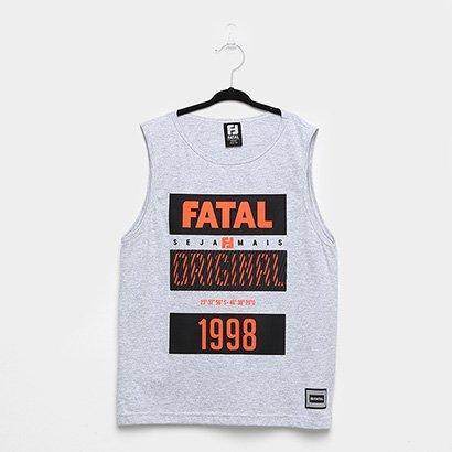 Regata Infantil Fatal 1198 Camurça Neon Masculina