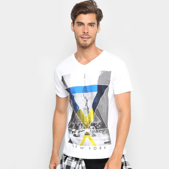 Camiseta Tigs New York Masculina - Compre Agora   Netshoes 35cf3fe635
