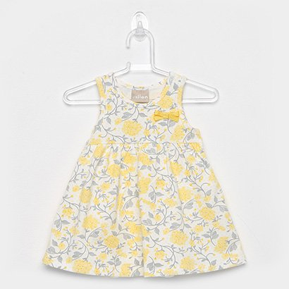 Vestido Infantil Milon Floral Body Interno