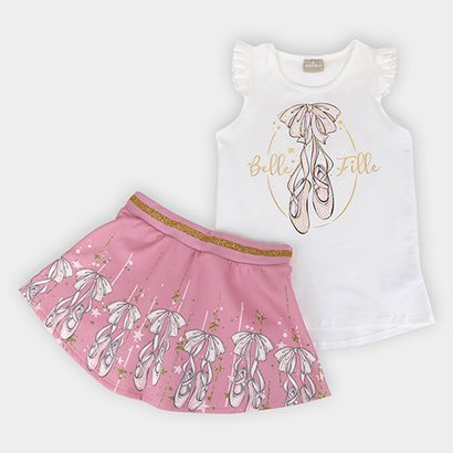 Conjunto Infantil Milon Ballet Feminino