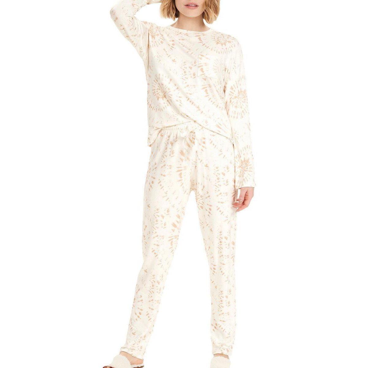 Pijama Longo Cor Com Amor Estampado Feminino