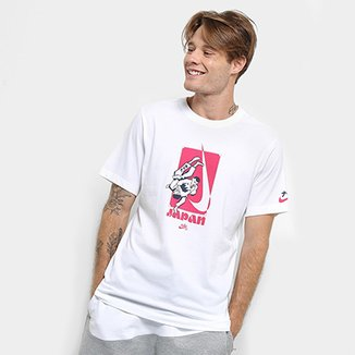 cb391edbb69f1 Camiseta Nike SB Dry Estampa Karatê Masculina