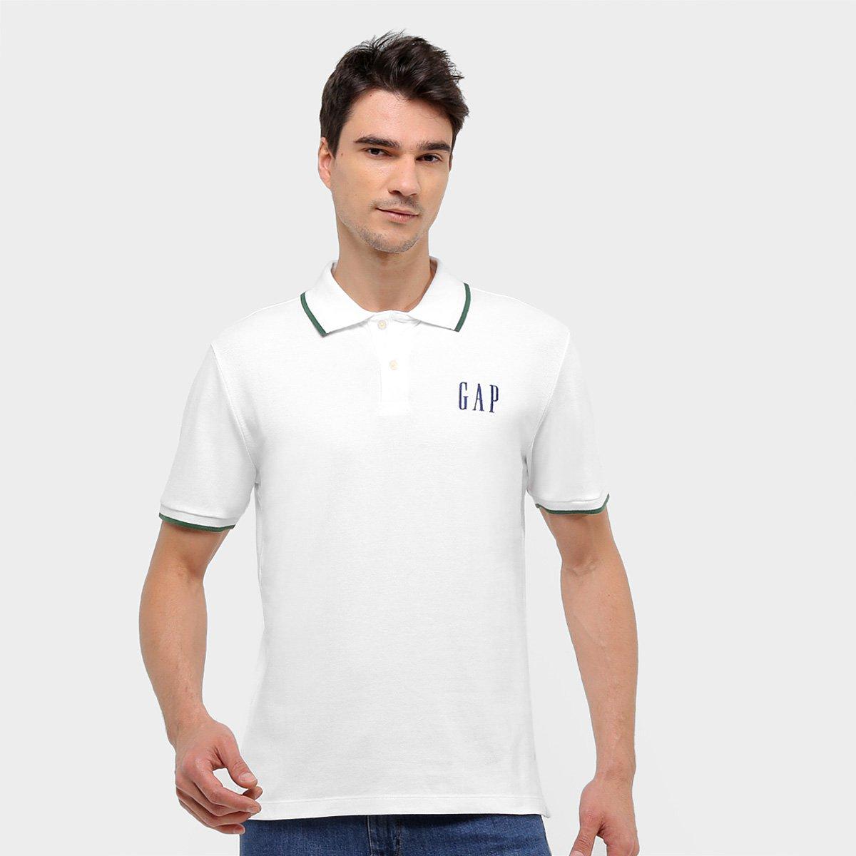 Camisa Polo GAP Malha Logo Masculina