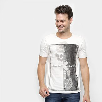 3014616f8 Camiseta Derek Ho Guitar Rose Masculina