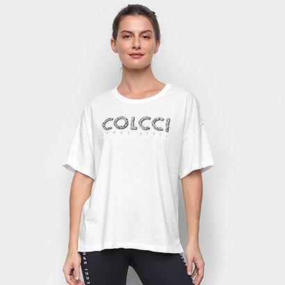 Camiseta Colcci Estampada Sport Feminina