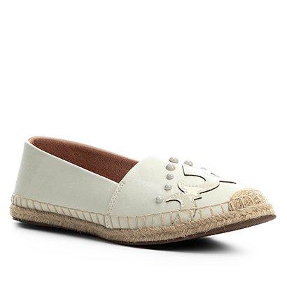 Sapatilha Shoestock Espadrille Western Feminina
