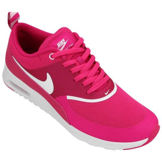 buy online c5dd0 34191 Tênis Nike Air Max Thea - Rosa+Branco