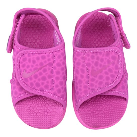 61e373242 Sandália Nike Sunray Adjust 4 Infantil - Lilás | Netshoes