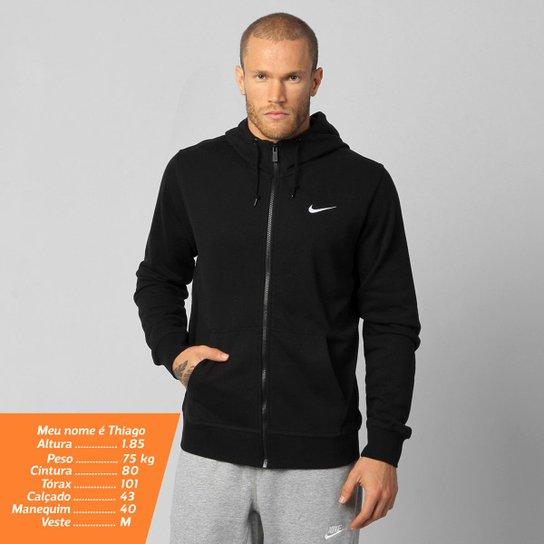Jaqueta Nike Club FT FZ c  Capuz - Compre Agora  c4a0a3ce22d0a