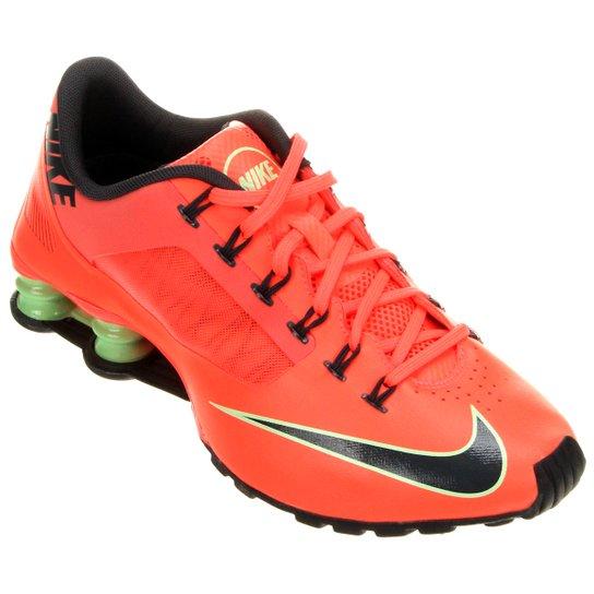 hot sale online 9f01a 27c59 Tênis Nike Shox Superfly R4 - Laranja+Preto