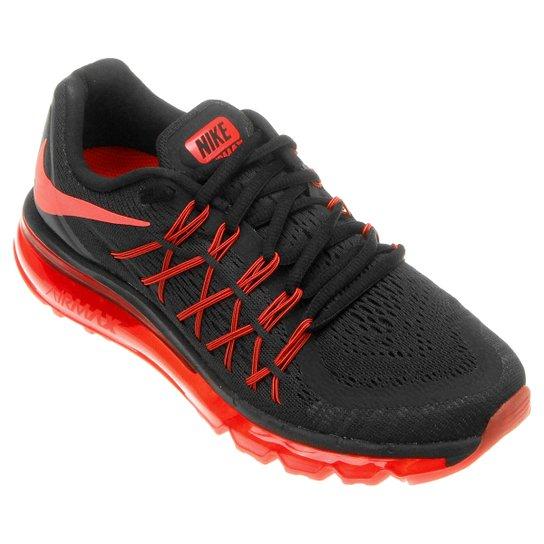 c8ebffb9c Tênis Nike Air Max 2015 Masculino - Vermelho+Preto