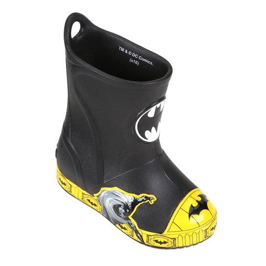 ab39877961f Bota Infantil Crocs Bump It Batman Masculina - Preto