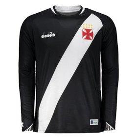 Camisa de Goleiro Vasco I 2018 s n° Torcedor Diadora Masculina ... 4eac090891803