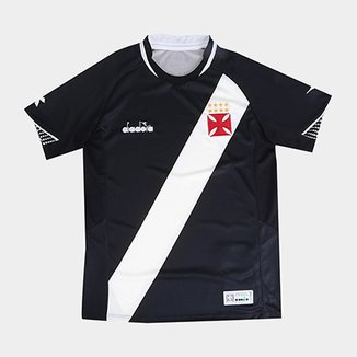 7eab44e5f3 Camisa Vasco I Infantil 2018 s n° Torcedor Diadora