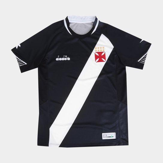 Camisa Vasco I Infantil 2018 s n° Torcedor Diadora - Preto - Compre ... c82c0f54a4aa8