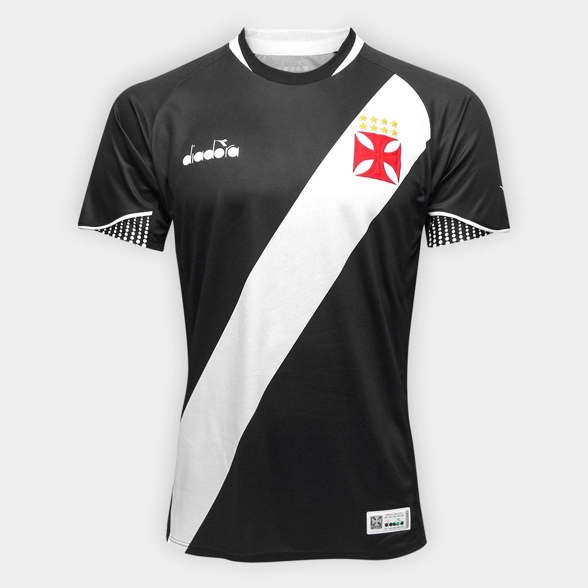 0f95af6878 Camisa Vasco I 2018 s n° Jogador Diadora Masculina