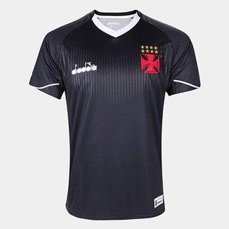 7bda5f9c8e Camisa de Goleiro Vasco III 2018 s n° Torcedor Diadora Masculina