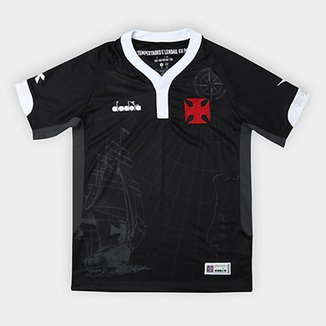 3a5b2c6d2e Camisa Vasco III 2018 s n° - Torcedor Diadora Infantil