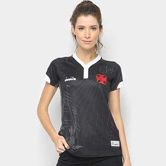 Camisa Vasco III 2018 s n° - Torcedor Diadora Feminina 59e93e919e62b