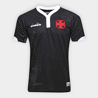 Camisa Vasco III 2018 s n° - Torcedor Diadora Masculina e7abf30ed90db