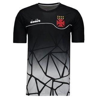 97b442caa75d4 Camisa Diadora Vasco Concentração 2018 Masculina