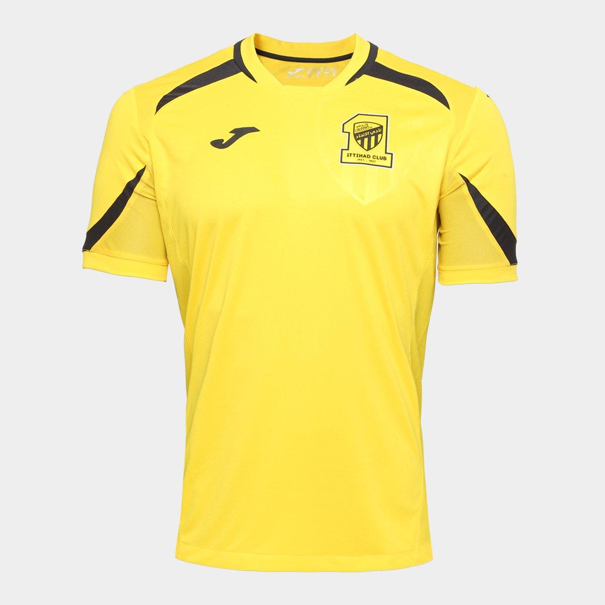 5abfd5cae5 Camisa Ittihad Third 17 18 s n°- Torcedor Joma Masculina