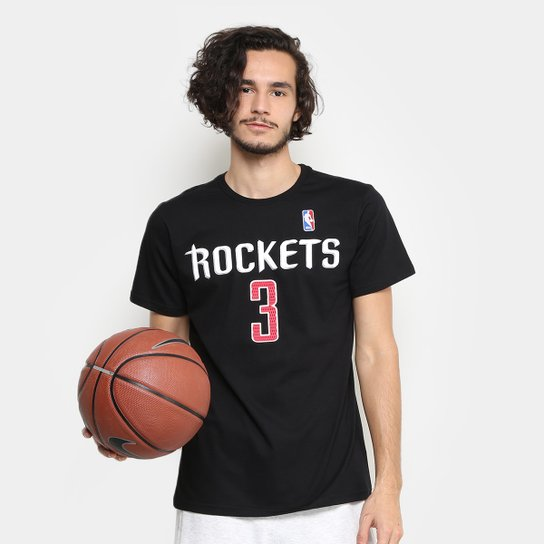 fe9f62fc7 Camiseta NBA Houston Rockets - Chris Paul 3 Masculina - Compre Agora ...