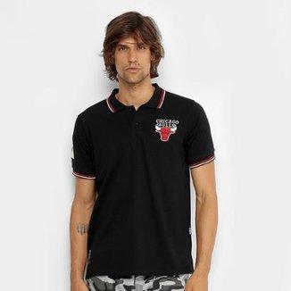 Camisa Polo NBA Chicago Bulls 17 Masculina 20971195456c2