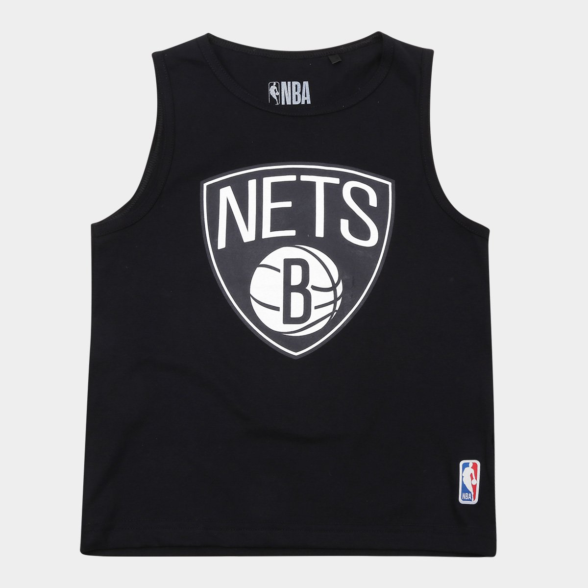 761cf197a Regata NBA Infantil Mini Brooklyn Nets Masculina