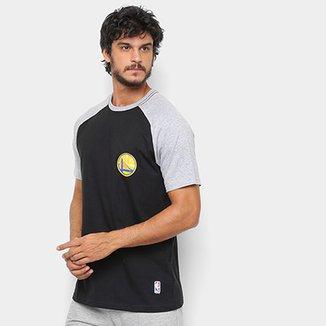 6431b8c7a2f21 Camiseta NBA Golden State Warriors Mini Logo Masculina