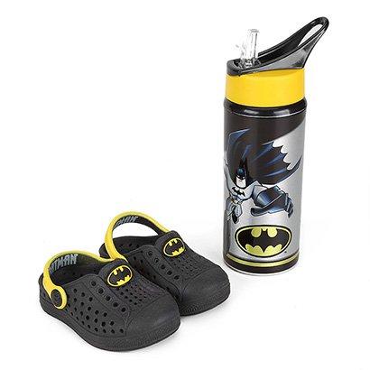 Babuche Plugt Batman Infantil com Squeeze