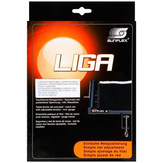6218a7386 Rede de Nylon Sunflex Liga para Tênis de Mesa com Suporte de Ferro - Preto