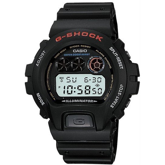 b103297329a Relógio Casio G-Shock Dw-6900-1Vdr - Preto - Compre Agora