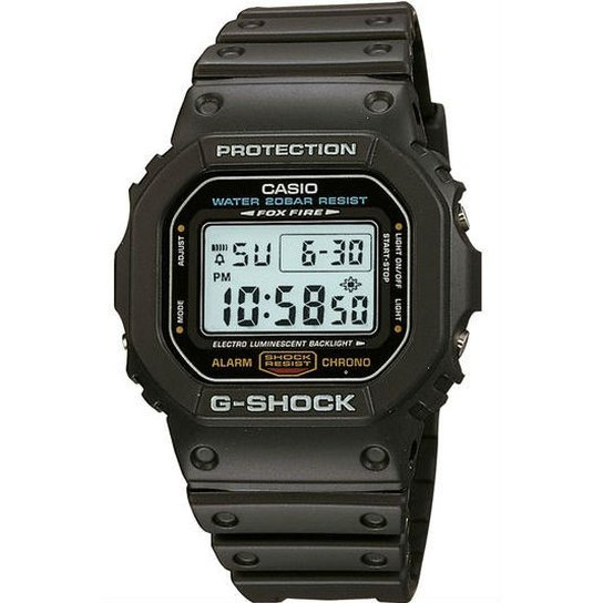 4f501daf36d Relógio Casio G-Shock Dw-5600E-1Avdf - Preto - Compre Agora