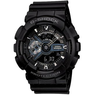 445acf038 Relógio Casio G-Shock Ga-110-1Bdr
