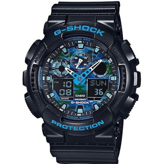 b78cc77333c Relógio Casio G-Shock Ga-100Cb-1Adr - Preto - Compre Agora