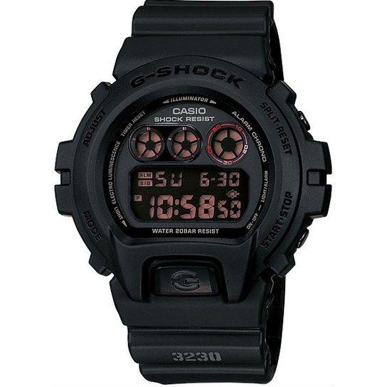 4009ddc32db Relógio Casio G-Shock Dw-6900Ms-1Dr - Preto - Compre Agora