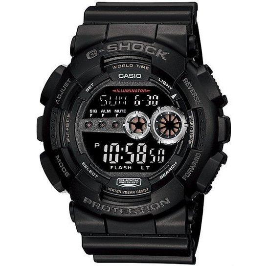 1bbe8fc42f2 Relógio Casio G-Shock Gd-100-1Bdr - Preto - Compre Agora