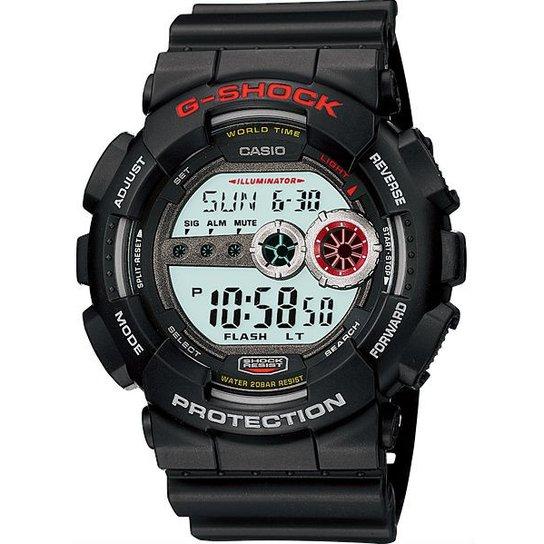 44e394bfea9 Relógio Casio G-Shock Gd-100-1Adr - Preto - Compre Agora