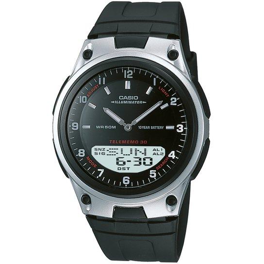 90735338223 Relógio Casio AW-80-1A - Preto - Compre Agora