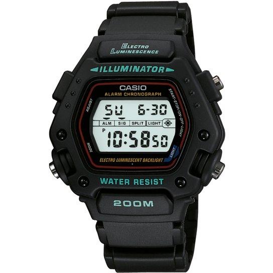 73c126e6f16 Relógio Casio DW-290-1VS - Preto. Loading.