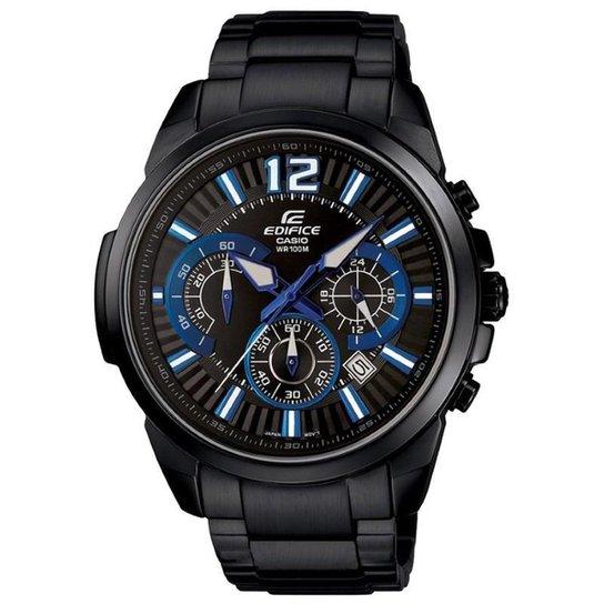 017782c7881 Relógio Casio Edifice EFR-535ZBK 1A2V - Compre Agora